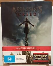Assassin's Creed (Blu-ray, 2017) Steelbook NEW UNSEALED
