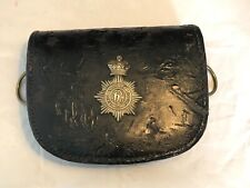 More details for victorian patent leather pouch of the middlesex yeomanry  re-enactment/ collect