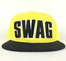 Nwt Swag Hip Hop Cap Flat Brim Baseball Hat Club Chic Kpop Star