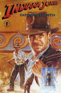 Indiana Jones and the Fate of Atlantis TPB #1-1ST VF 1992 Stock Image
