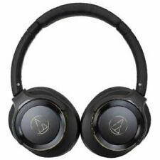 audio-technica SOLID BASS Bluetooth headphone ATH-WS660BT BGD From Japan F/S NEW