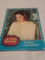 1977 Topps Star Wars #5 Princess Leia Organa Non-Sports Card