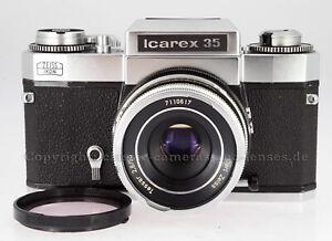 Rarität:Zeiss Ikon Icarex 35 Kunden-Leihkamera, mit Carl Zeiss Tessar 2,8/50 #GB