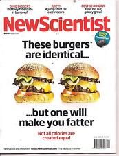 NewScientist-18 july 2009-THESE BURGERS ARE IDENTICAL...BUT ONE WILL MAKE YOU...