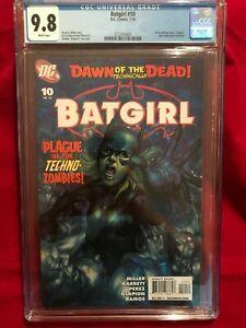 Batgirl #10 Early DC ARTGERM Cover 7/10 CGC 9.8