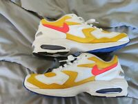 Men's Nike Air Max 2 Light. University Gold / Flash Crimson AO1741-700 Size 11.5