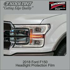 Headlight Protection Film by 3M for a 2018 Ford F150