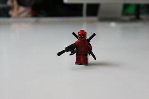 Deadpool Minifigur - Marvel Figur Brick