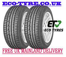 2X Tyres 205 50 R17 89V Continental ContiPremiumContact2  E C 71dB