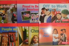 Social Studies 6 Books Below Level Readers Grade K Our World, Now & Long Ago