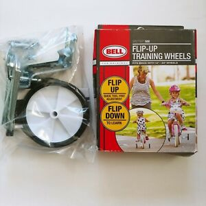 """BELL Spotter 500 Flip-Up Training Wheels Bikes With 12"""" - 20"""" Wheel New, Sealed"""