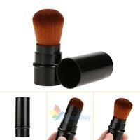 Retractable Makeup Beauty Cosmetic Face Powder Blush Brush Foundation Brushes A