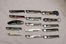 Lot Of 15 Franmara Italy TSA Confiscated Corkscrews Lot 218