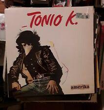 Tonio K LP Amerika ,Arista 1980. AB 4271.
