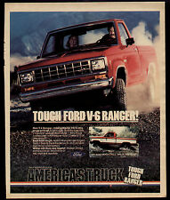 1983 TOUGH V-6 RANGER FORD TRUCK AD