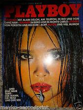 Playboy - D 5/1982,  Anna Parillaud, Alain Delon, Marie Colbin, Caroline  Bergen