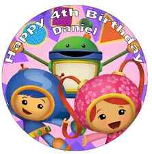 Team Umizoomi Cake Topper Personalised Edible Wafer Paper 7.5""