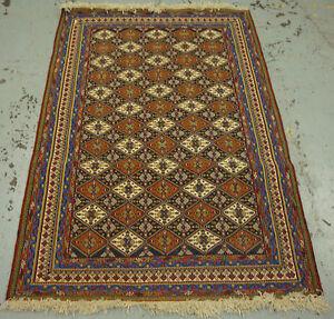 very fine Handmade Parsian sumak rug 203cm x 132cm