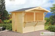 Gartenhäuser mit 15-19 mm Wandstärke-Satteldach
