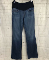 CITIZENS OF HUMANITY MATERNITY Women's Mid Belly Panel Jean Medium Wash Size 31