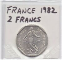 France 2 Francs Coin 1982 As Pictured