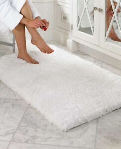 Velvet Home Bath floormat bathroom Rug Plush soft Luxury