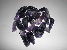 Lot of 100% Natural Large2 Amethyst Quartz Crystal Rock Chips 50g - New