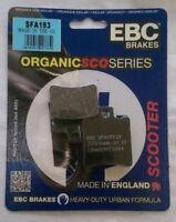 APRILIA SCARABEO 50 (1993 TO 2009) EBC Organic PASTILLAS DE FRENO DISCO