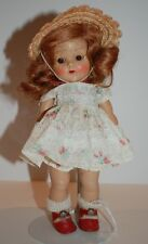 1950s STRUNG GINNY VOGUE w ROOT BEER EYES in TAGGED OUTFIT - ROSEY CHEEKS!