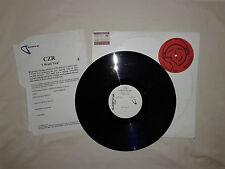"CZR Feat. Delano – I Want You–Disco 12"" Vinile PROMO Test Pressing USA 2001"