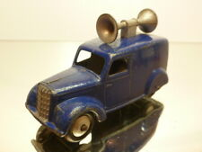 DINKY TOYS 34C LOUDSPEAKER CAR - BLUE 1:43 - GOOD CONDITION