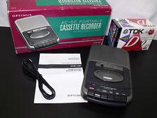Radio Shack Optimus Cassette Tape Recorder Ctr-109 in Orig Box Plus Tapes