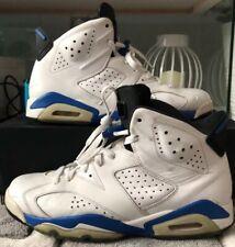 Nike Air Jordan IV 6 Retro Sport Blue White/Blue/Black Size 8.5 384664-107