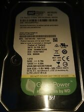 "WD WD10EURX 1TB 64MB Cache 3.5"" SATA 6.0Gb/s Hard Drive - For CCTV DVR, PC, NAS"