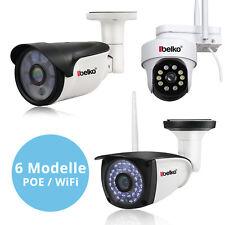 Belko® IP Kamera 5MP Überwachungskamera WLAN POE 1080p outdoor außen IP66