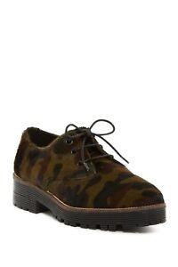 Shellys London Terrwyn Genuine Calf Hair Oxford Sneaker (size 36)