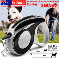 5M 3M Heavy Duty Pet Dog Automatic Retractable Traction Rope Walking Lead Leash
