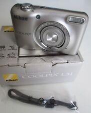 Nikon COOLPIX L31 16.1MP 5X Zoom 720P HD Video Digital Camera (Silver)