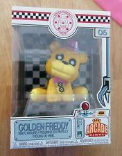 Funko pop! fnaf freddy fazberri's pizza-Golden freddy-embalaje defectuoso nuevo
