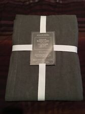 "Williams Sonoma Tablecloth Italian Washed Linen 70"" x 108"" New! HALF OFF! $150!"