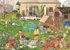 The House Of Puzzles - 500 PIECE JIGSAW PUZZLE - Egg Hunt Unusual Pieces