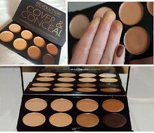 Makeup revolution cover & conceal palette medium-dark CREAM CONCEALER palette
