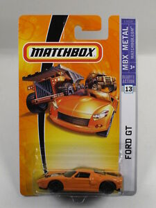 Matchbox Ford GT - orange