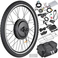 """48V1000W 26"""" Front Wheel Electric Bicycle Hub Motor Speed Control Conversion Kit"""