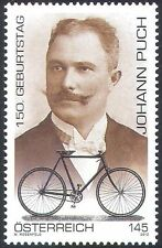 Austria 2012 Johann Puch/Bikes/Cycling/Bicycle/Motorcycles/Transport 1v (n38538)