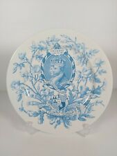 Royal Worcester George V & Mary 1911 Coronation Plate