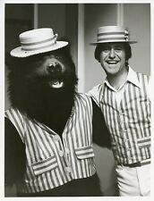 SOUPY SALES AND BARNEY BEAR TRIPLE PLAY '73 BARNEY AND ME ORIG 1972 NBC TV PHOTO