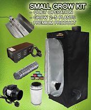 Grow Tent Kit, 250w HPS Dual spectrum, 60x60x140cm Tent Full ventilation kit