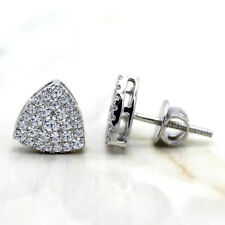 Swarovski Cluster Diamond Everyday Stud Earring High Quality 14kt White gold