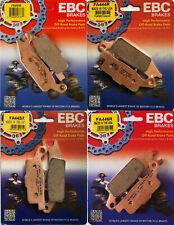 EBC R Series Front & Rear Brake Pads Set - Yamaha YFM550 & YFM700 Grizzly